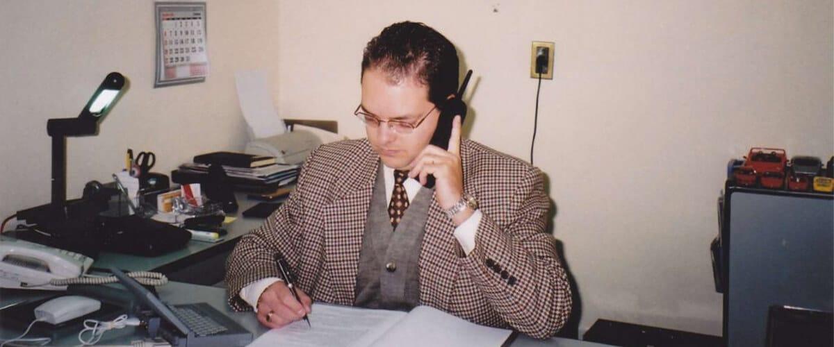 Escritório Contábil nos anos 90