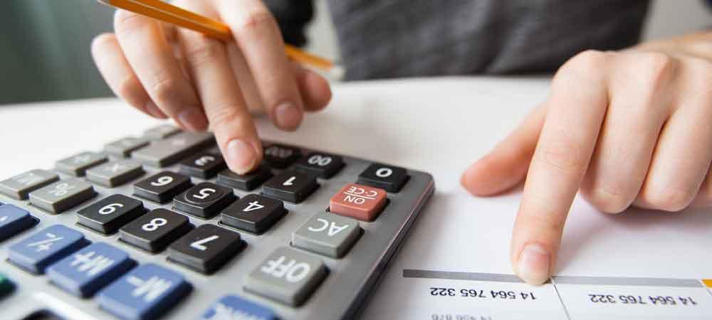 imagem que represente cálculo financeiro