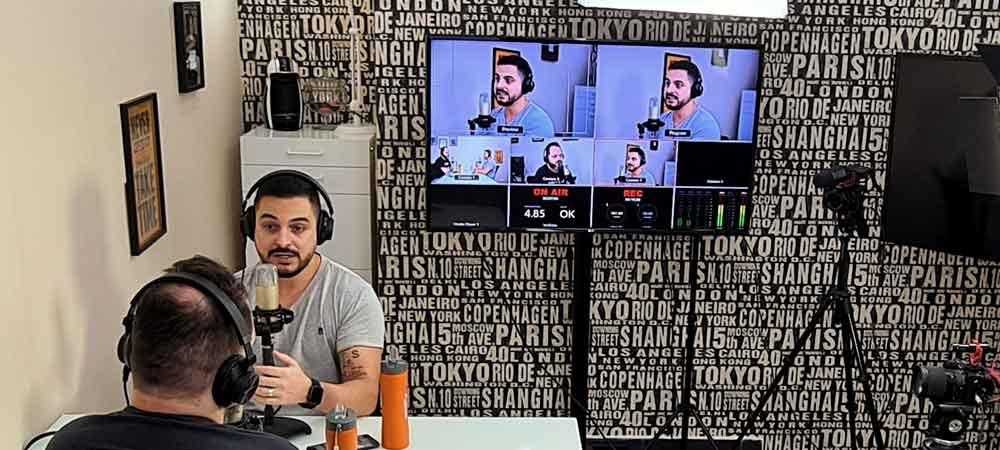 imagem que represente várias imagens controladas pelas câmeras